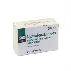 Сульфасалазин - противовоспалительный препарат для лечения язвенного колита