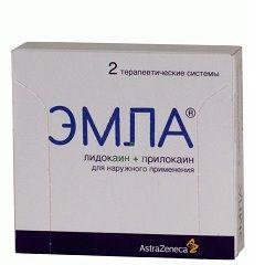 Анестезирующее средство Эмла