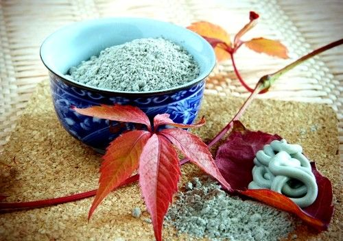 efect termic folosind argila albastra