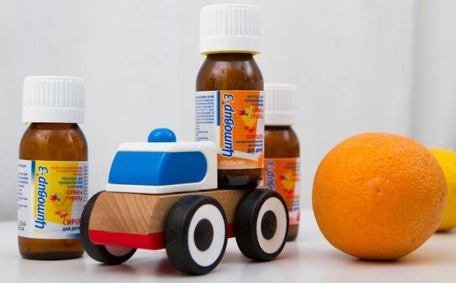 Цитовир-3 для детей