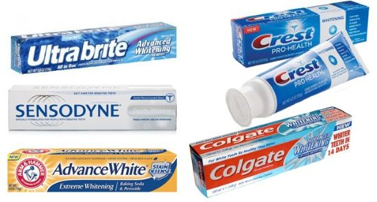 Pasta za zube za izbjeljivanje