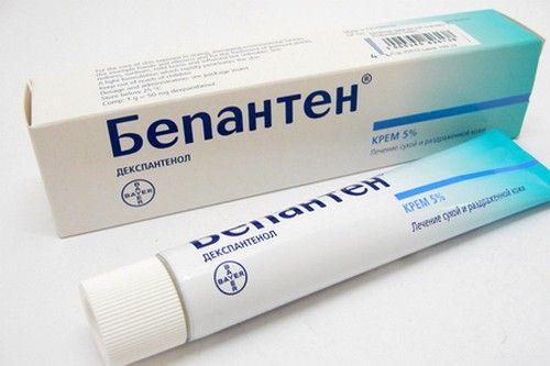 При возникновении дерматита у грудного ребенка рекомендуется использовать Бепантен