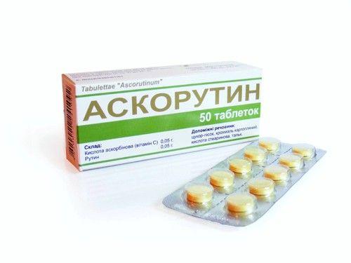 Часто для остановки маточного кровотечения женщинам назначается Аскорутин