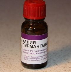Обеззараживающее средство Калия перманганат