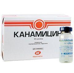 Антибактериальный препарат Канамицин