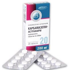 Лекарственная форма Карбамазепина - таблетки
