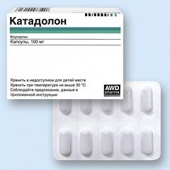 Таблетки Катадолон 100 мг