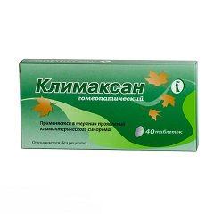 Гомеопатические таблетки Климаксан