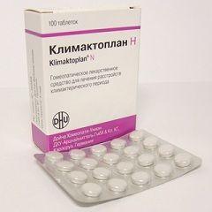 Лекарственная форма Климактоплана - таблетки