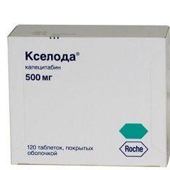 Таблетки Кселода 500 мг
