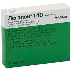 Гепатопротекторный препарат Легалон