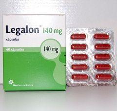 Лекарственная форма Легалона - капсулы