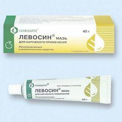 Левосин - мазь для наружного применения