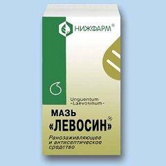 Противовоспалительное средство Левосин в форме мази