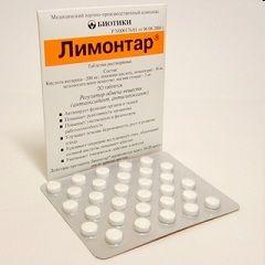 Форма выпуска Лимонтара - растворимые таблетки