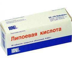 Общеукрепляющий препарат Липоевая кислота