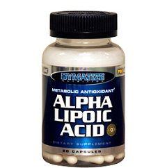 Альфа-липоевая кислота в форме капсул