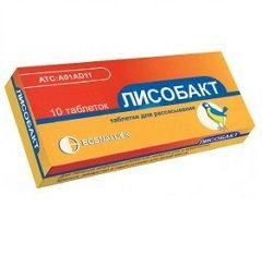 Антисептический препарат Лисобакт