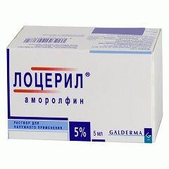5% раствор для наружного применения Лоцерил