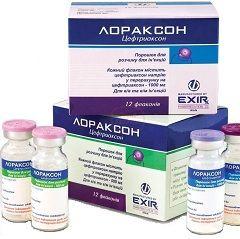 Лораксон - бактерицидный препарат