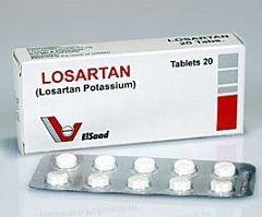Лекарственная форма Лозартана - таблетки