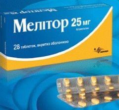 Антидепрессивный препарат Мелитор