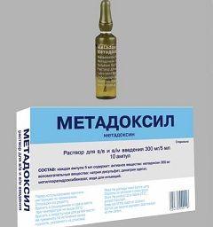 Гепатопротекторный препарат Метадоксил в ампулах