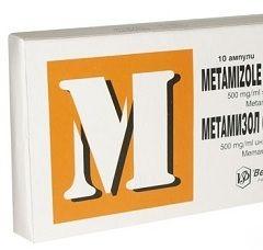 Метамизол натрия в ампулах