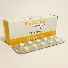 Анксиолитический препарат Мезапам
