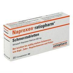 Противовоспалительный препарат Напроксен в таблетках