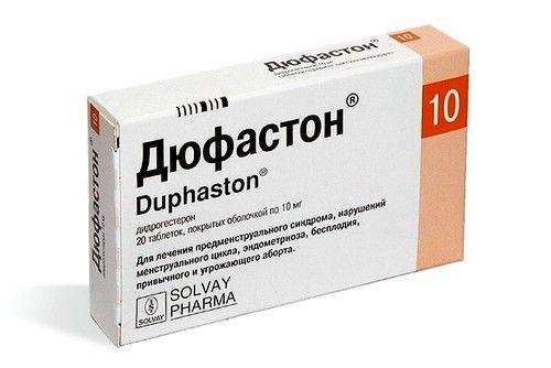 Лучшим гормональным препаратом считается Дюфастон