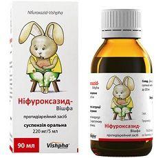 Суспензия Нифуроксазид для детей