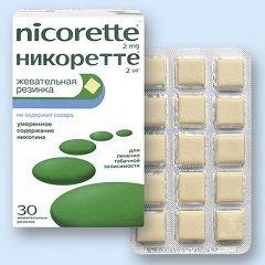 Nicorette žvakaća guma u dozi od 2 mg