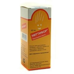 Противопедикулезный раствор Ниттифор для наружного применения