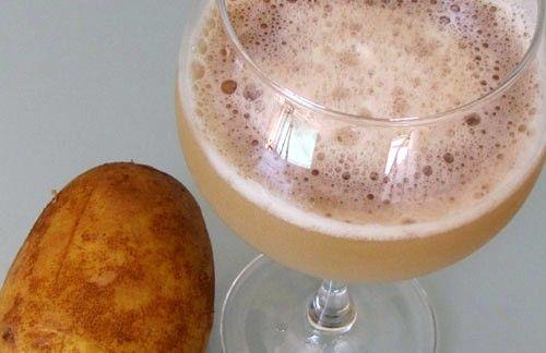 Картофельный сок стимулирует производство желудочного сока