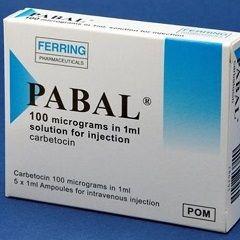 Пабал - аналог Окситоцина