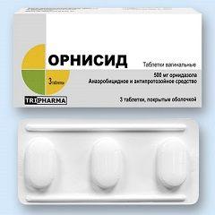 Vaginalete Ornisid 500 mg