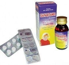 Парацетамол - средство для лечения ОРЗ у детей