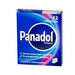 Панадол в таблетках