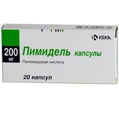 Капсулы Пимидель 200 мг