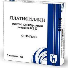 Спазмолитик Платифиллин