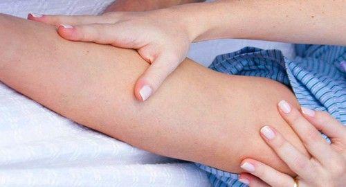 nižji poškodbe okončin lahko povzroči nabrekanje