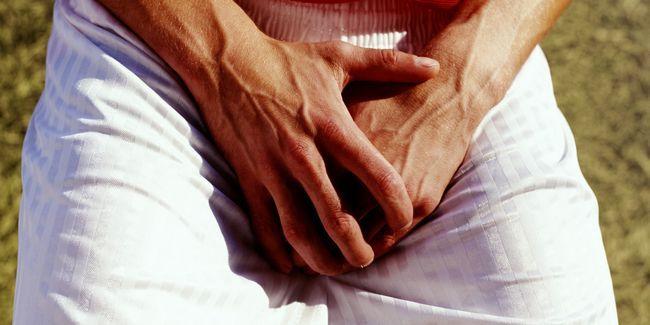 Roșeață pe glandului si preputului