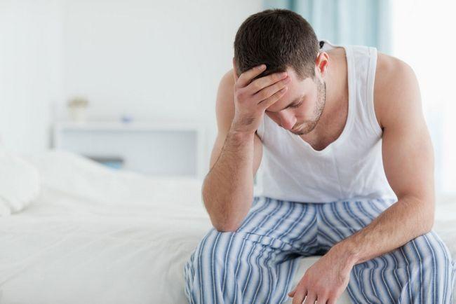 Simptome la bărbați