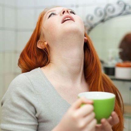 Полоскание горла содовым раствором