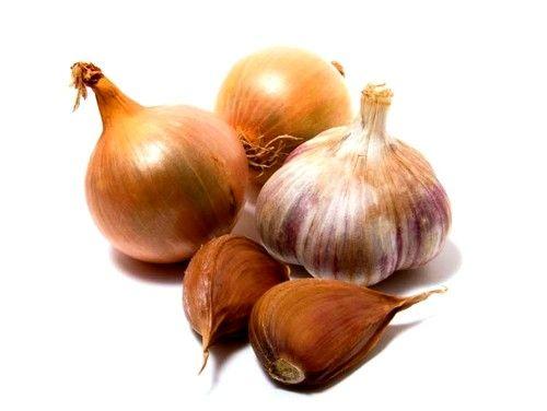 Категорически запрещено есть лук, чеснок, редьку, грибы, горох