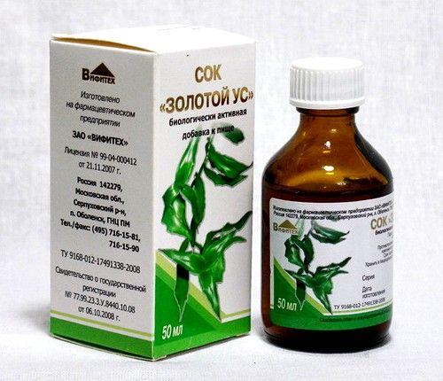 Сок, полученный из листьев и стеблей, имеет бактерицидное и ранозаживляющее действие