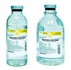 Раствор Рингера – регидратирующий препарат