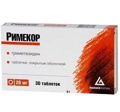 Римекор – препарат, улучшающий метаболизм миокарда