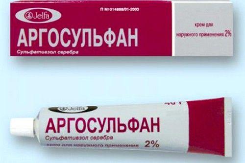 Хорошим противомикробным и ранозаживляющим действием обладает Аргосульфан